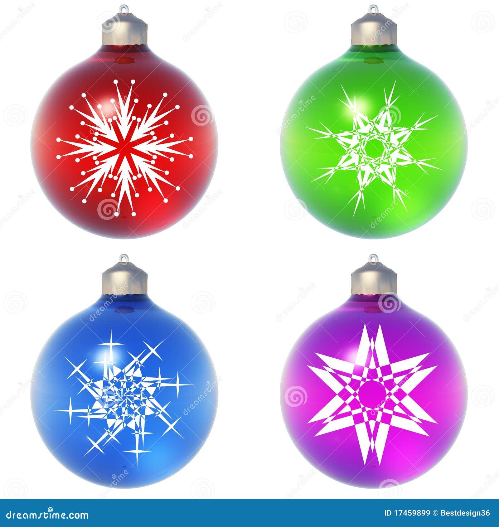 High resolution christmas ornament royalty free stock