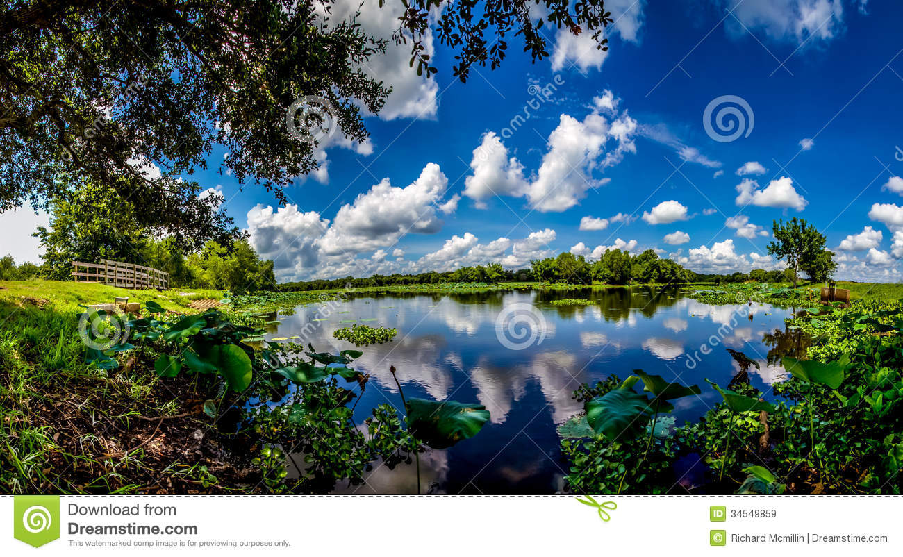 Blue Skies Of Texas >> A High Resolution, Colorful, Panoramic Shot Of Beautiful ...