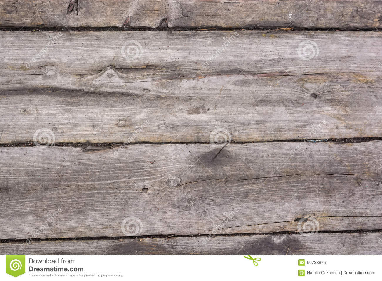 Download High Resolution Old Wooden Planks Texture Stock Image
