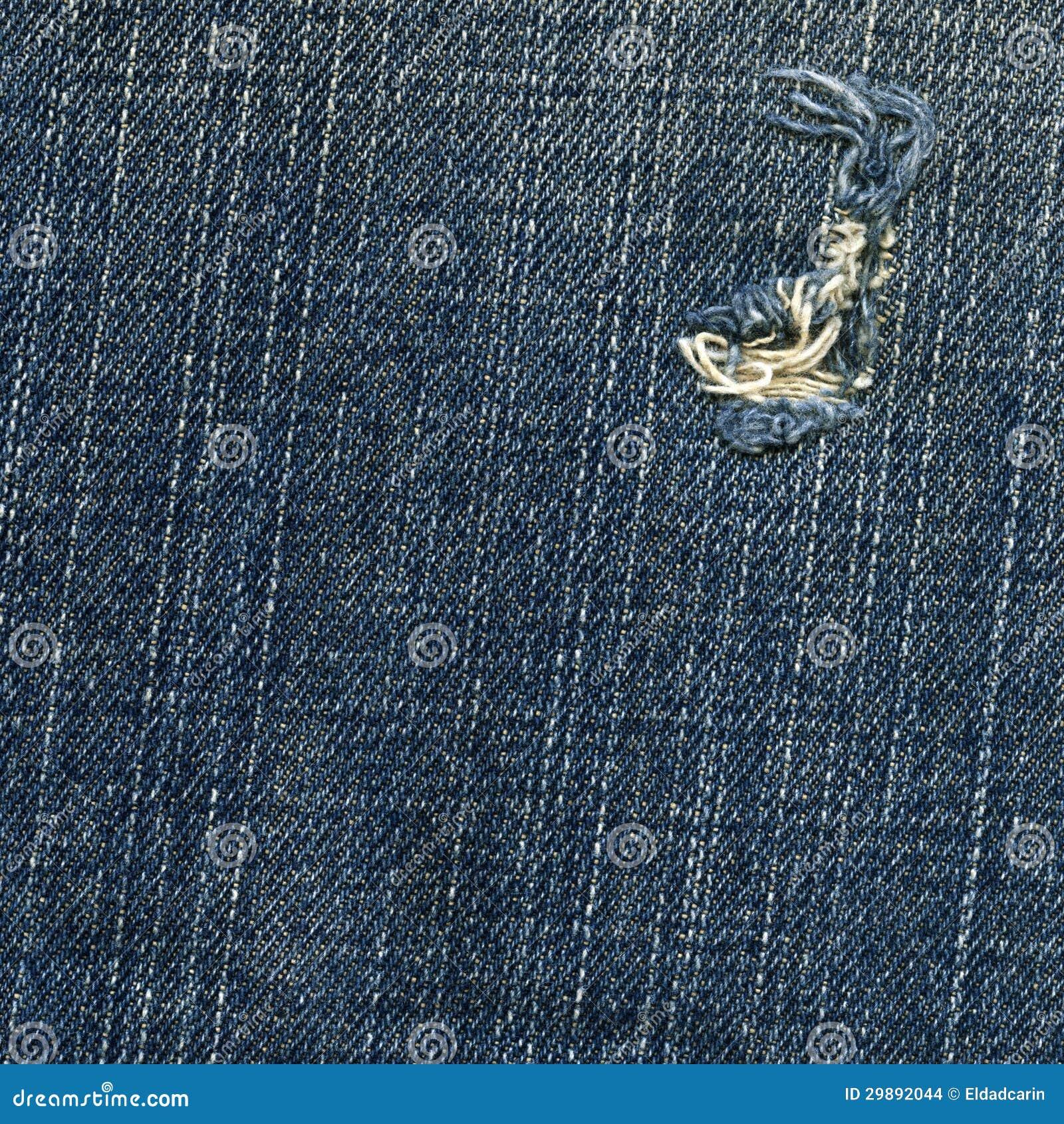 Denim Fabric Texture - Ripped - 630.2KB