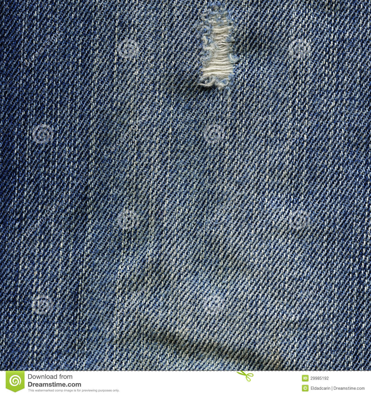 Denim Fabric Texture - Worn Out - 673.4KB