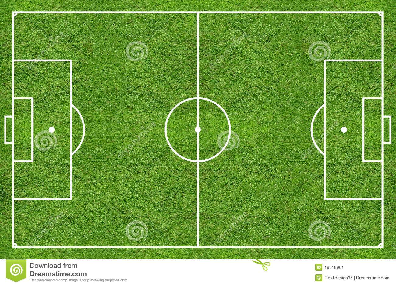 high resolution soccer grass field stock image