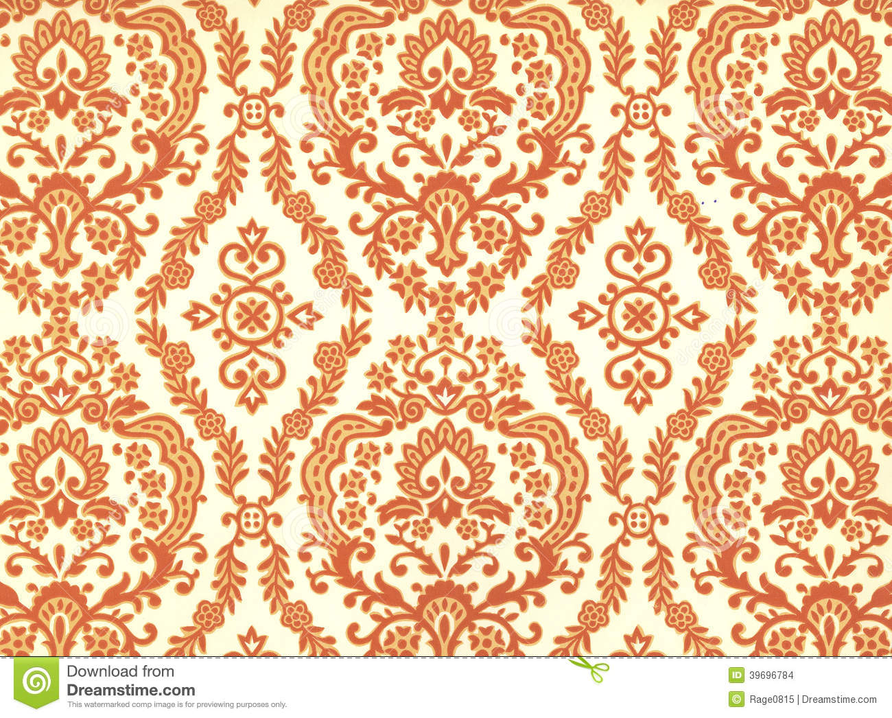 High resolution wallpaper with floral pattern stock photo - Papel para paredes decorativo ...