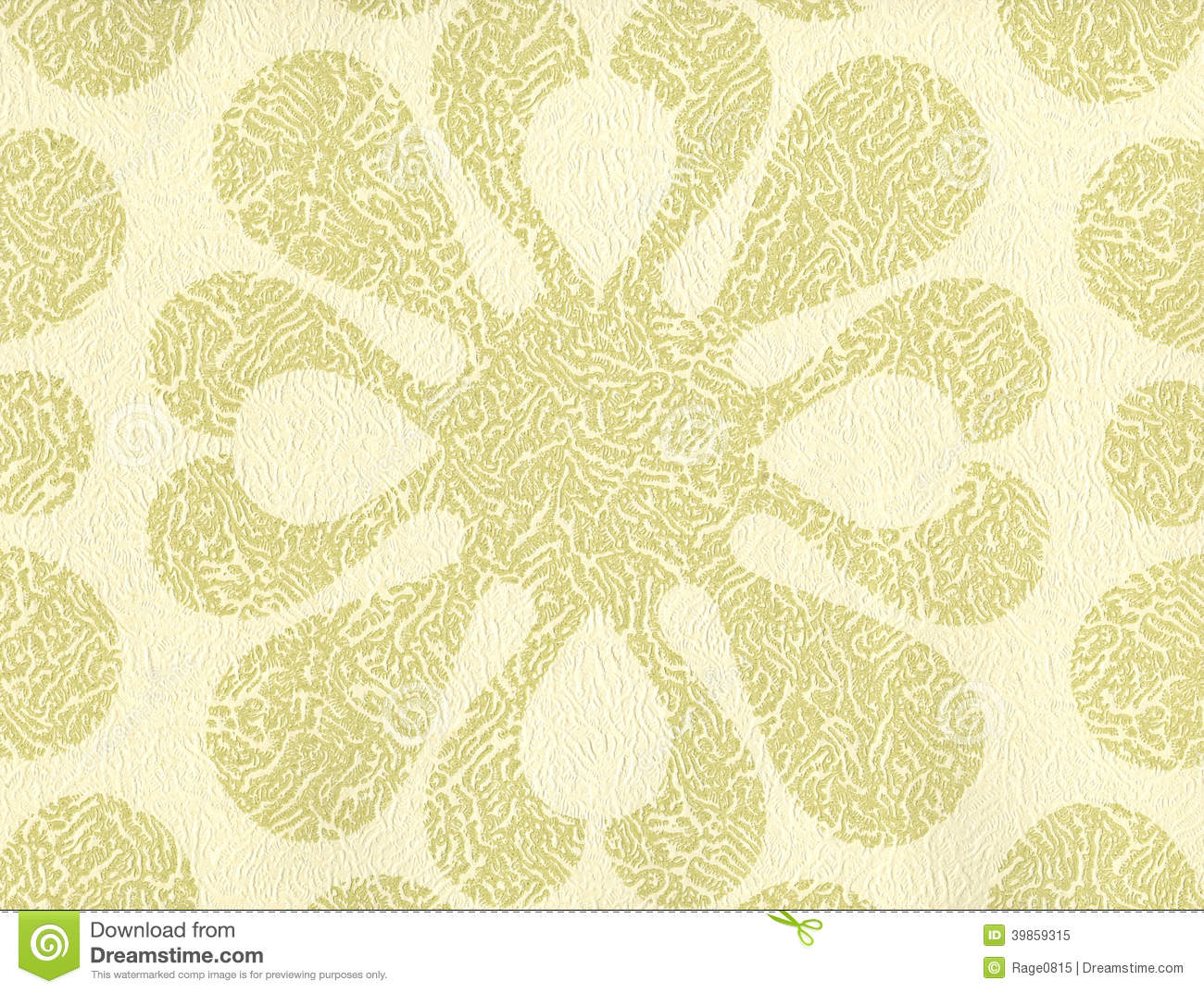 High Resolution Wallpaper With Floral Pattern Stock Image Image