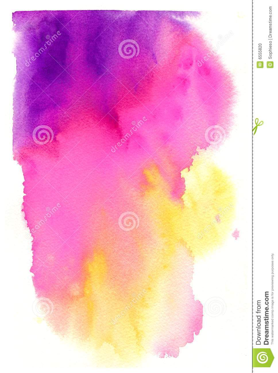 High Resolution Watercolor Background