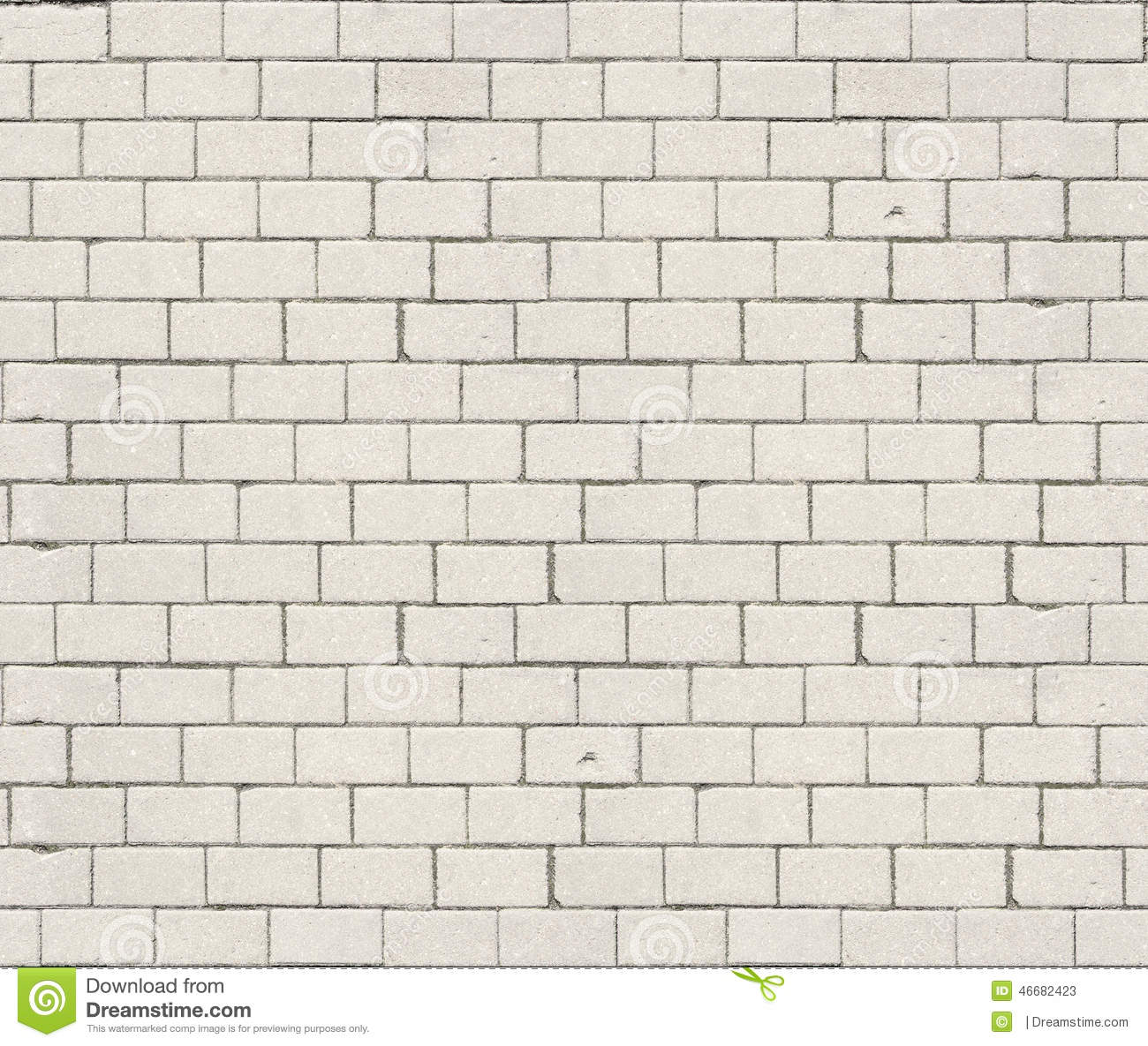 High resolution white brick seamless texture stock image for Lightweight stucco