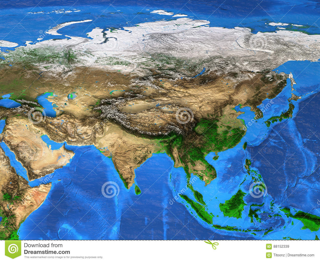 High resolution world map focused on asia stock image image of royalty free stock photo gumiabroncs Images