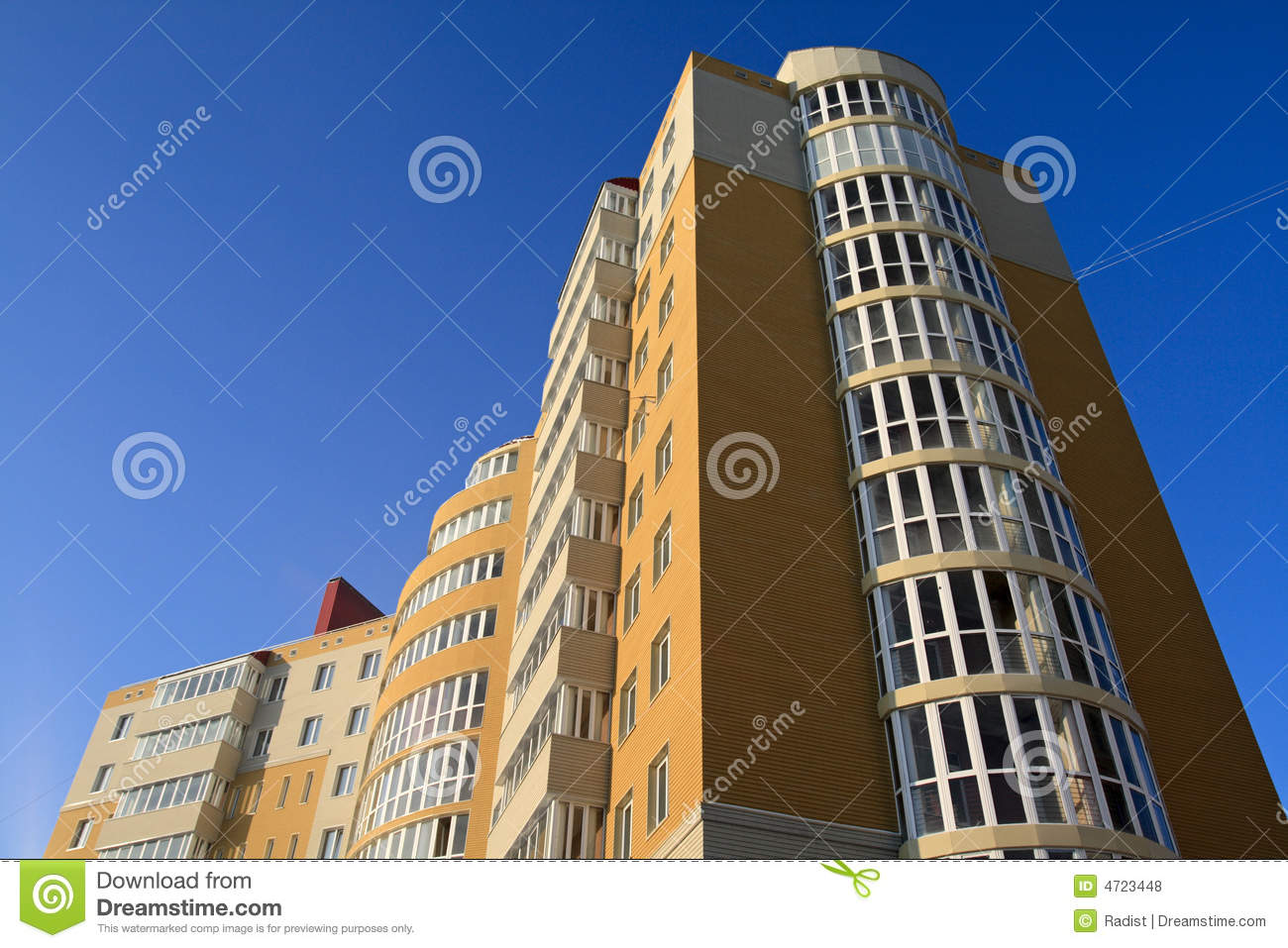High rise modern building royalty free stock photos for Modern high rise building design