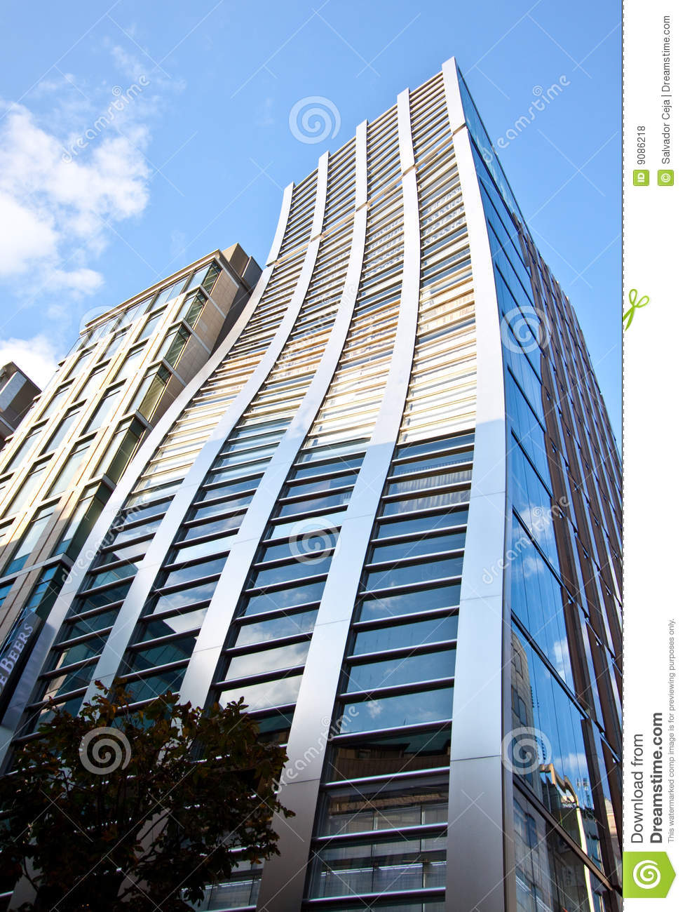 High rise office building in japan royalty free stock for Modern high rise building design