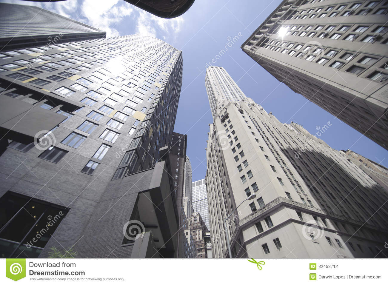 High Rise Office Building Stock Photo Image Of Clean