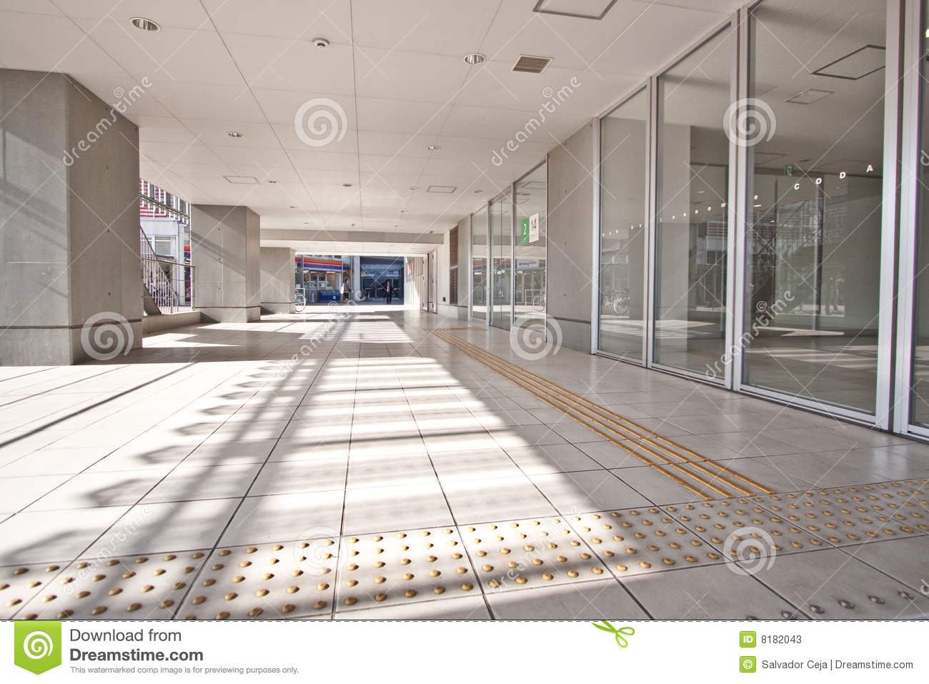 High Rise Residential Apartment Entrance Stock Photos