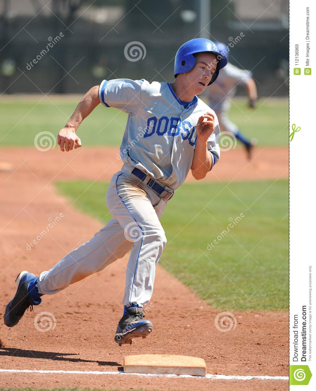 High School Baseball editorial stock image  Image of bases - 112136969
