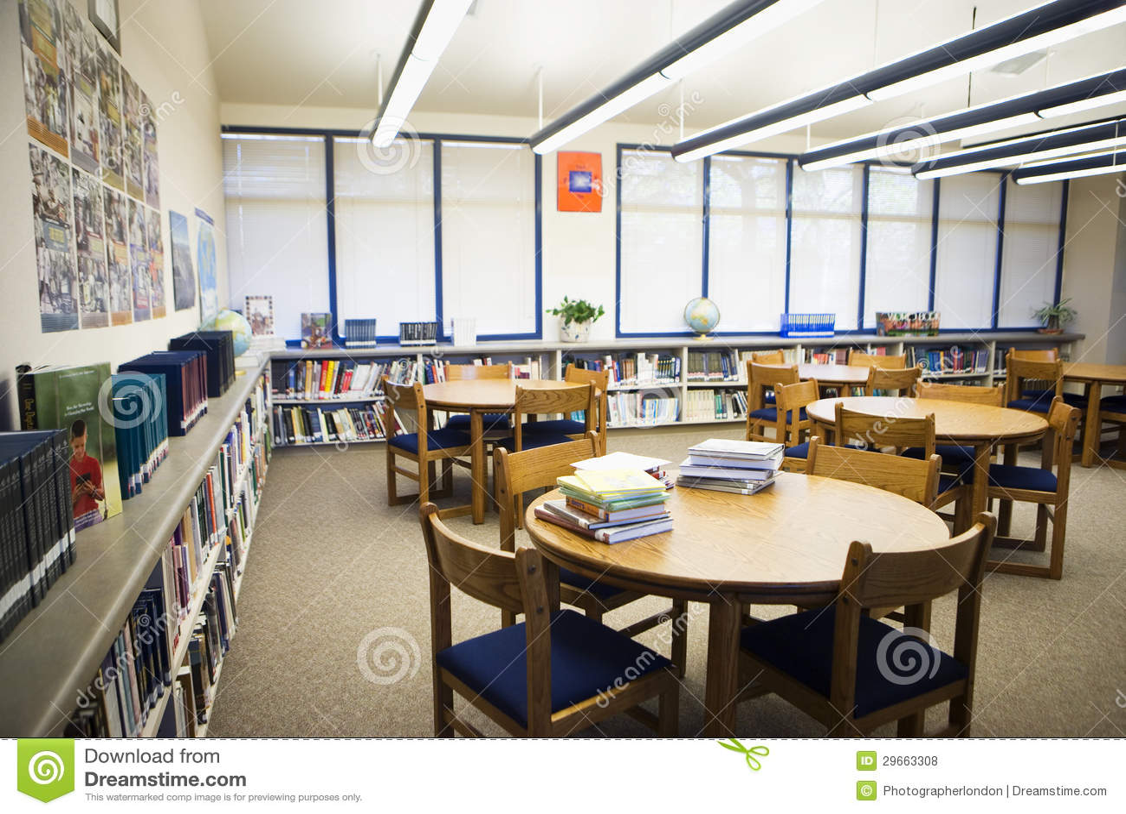 School Furniture Library Bookshelf Bookcase Design
