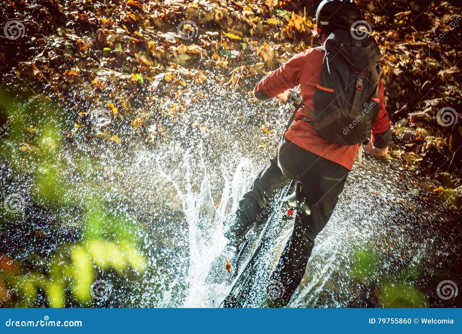 High Speed Bike Ride