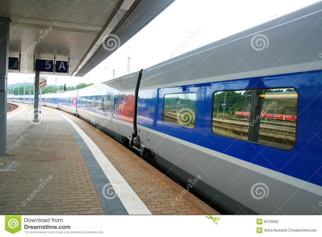 High Speed France Tgv Train Stock Photo Image 6470950