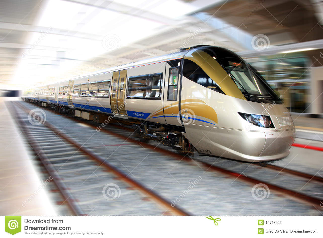 High Speed Gautrain, Gauteng, South Africa