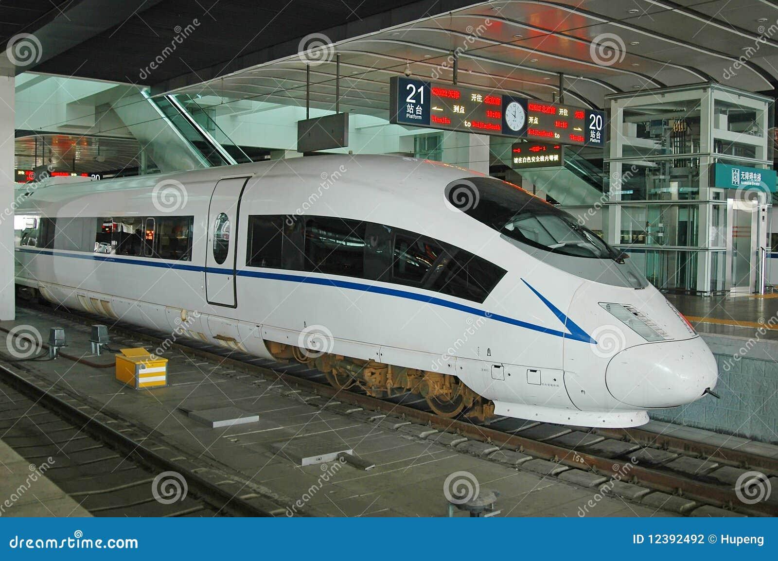 High speed train of China