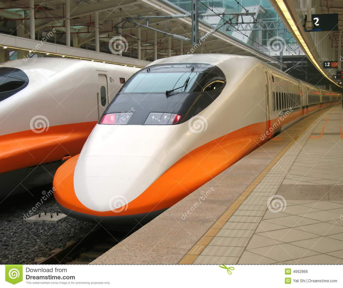 High Speed Train Engine