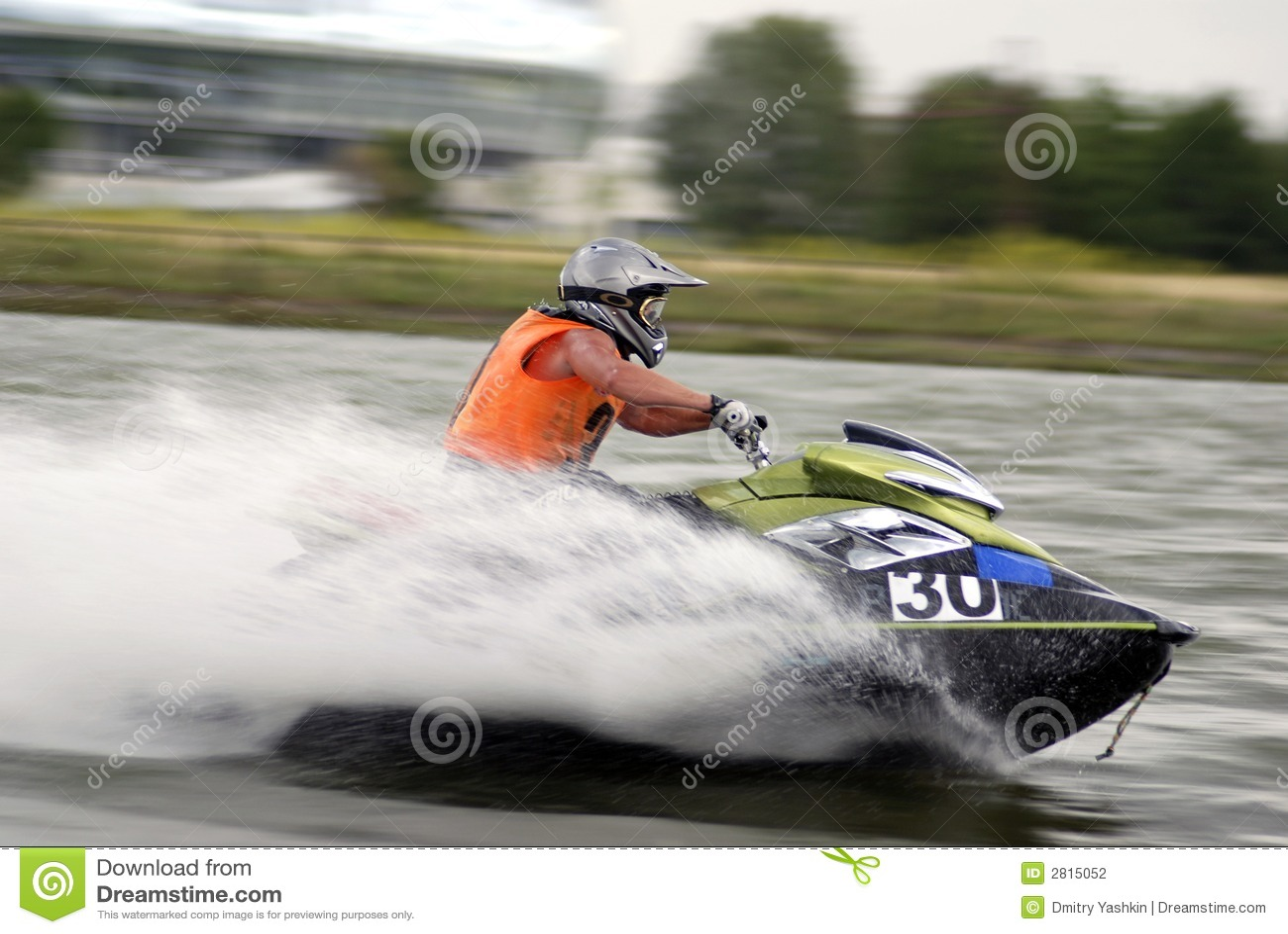 High-speed water jetski
