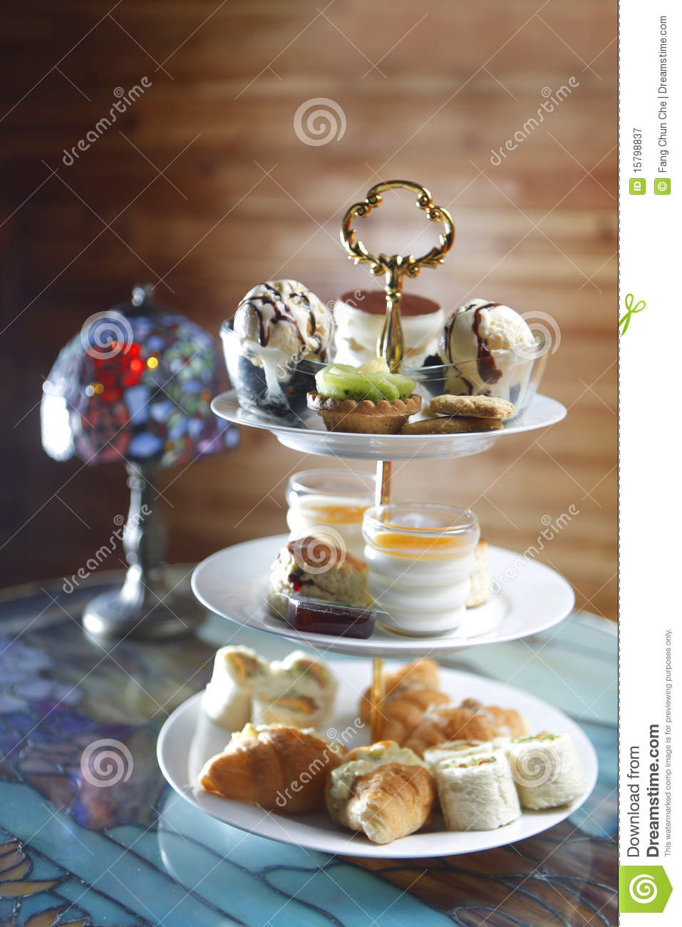 High Tea Stock Image Image Of Pastry Baked Cover