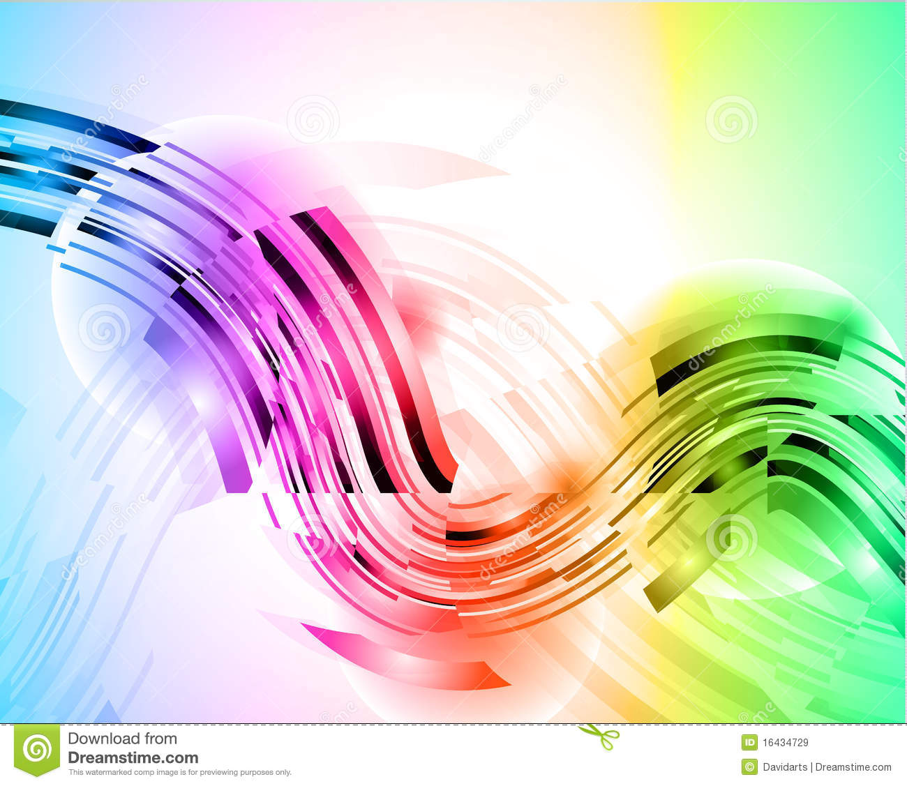 High tech abstract rainbow business card stock illustration download high tech abstract rainbow business card stock illustration illustration of border decoration reheart Images