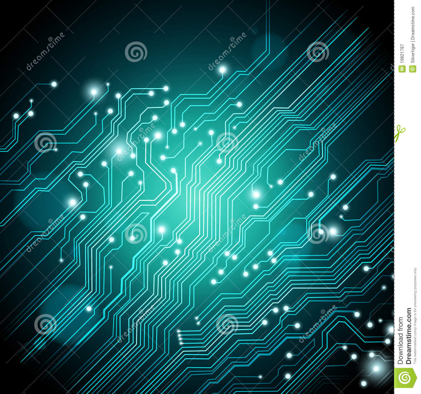 High Tech Background   Vector Is Available