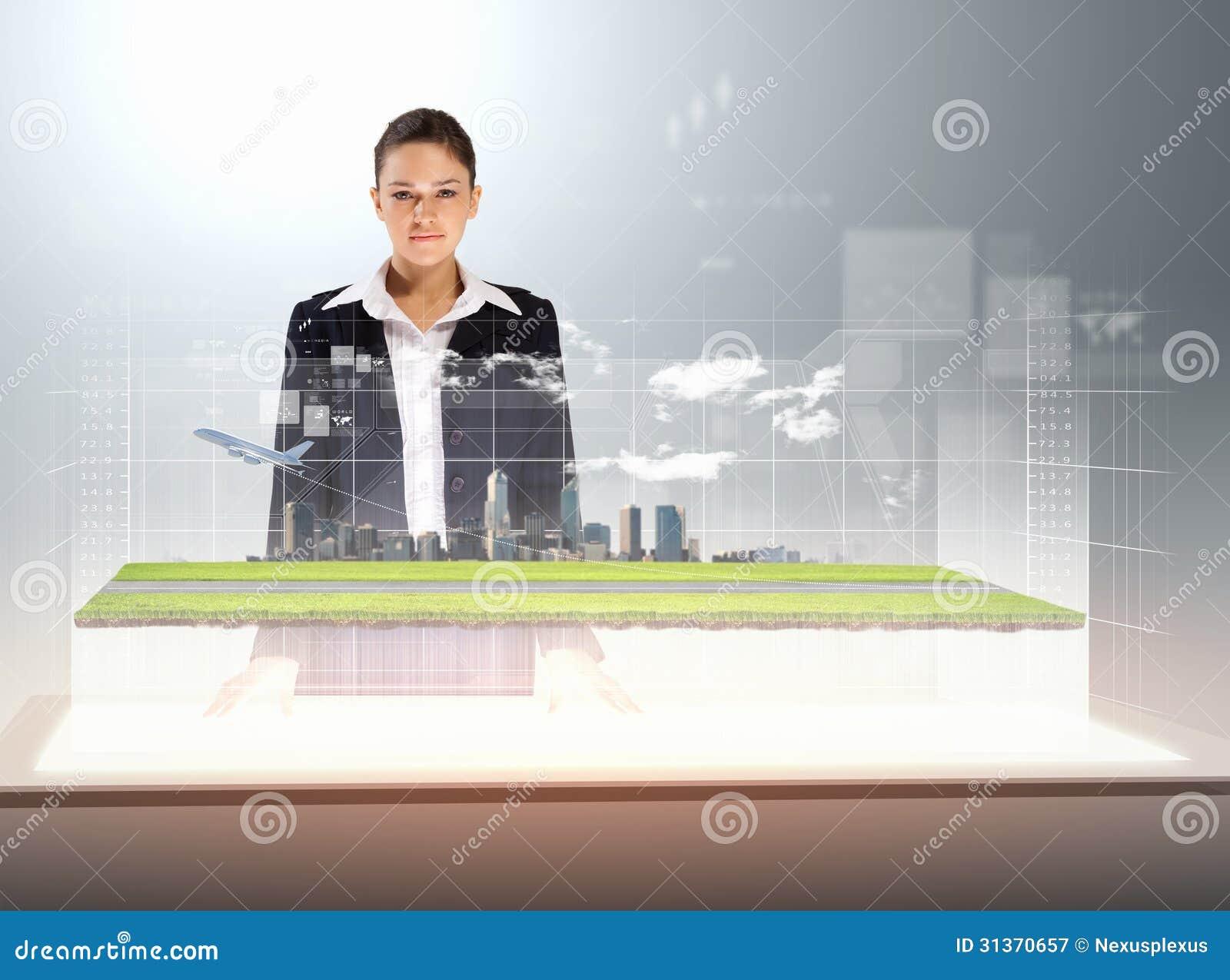 High-tech in business