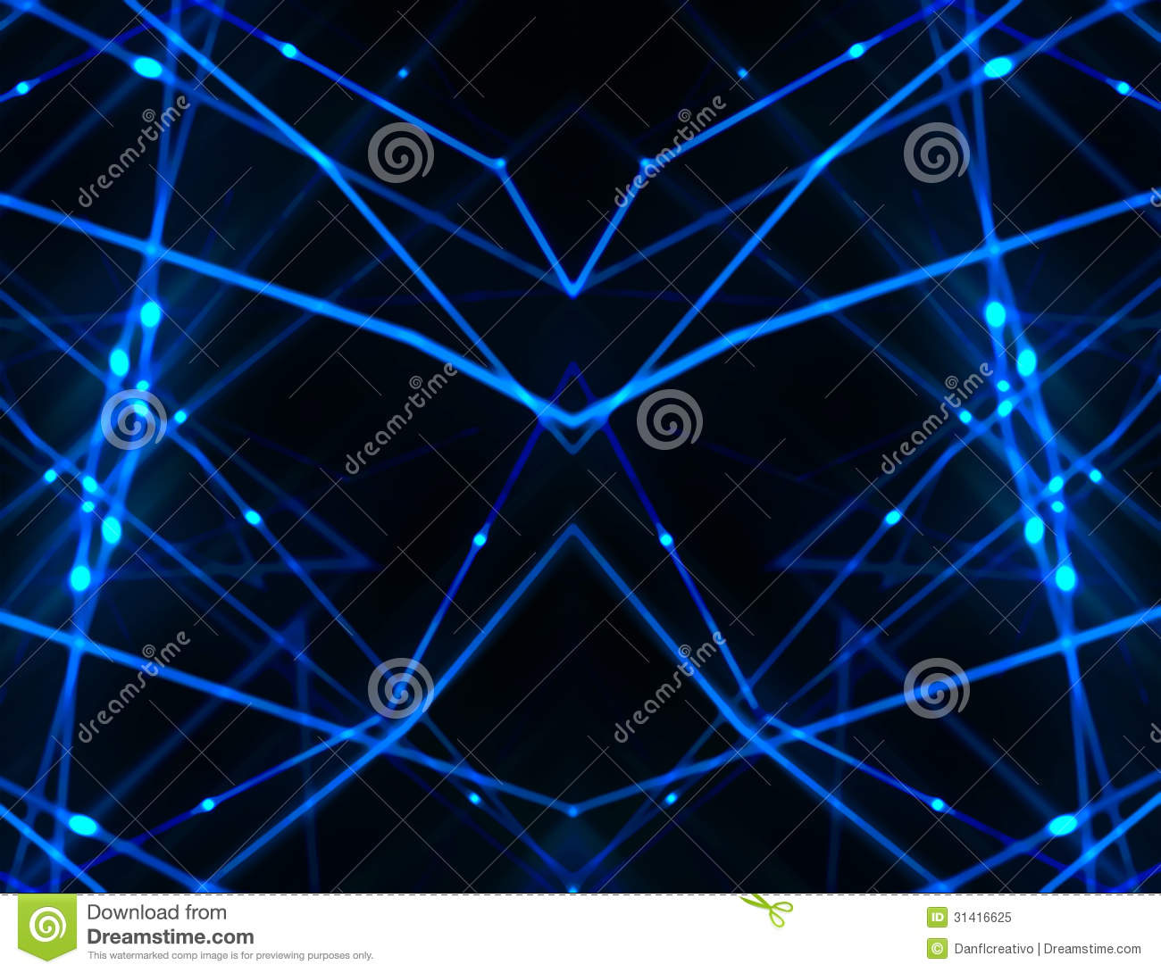 High Tech Futuristic Networks Backgrounds Stock Image