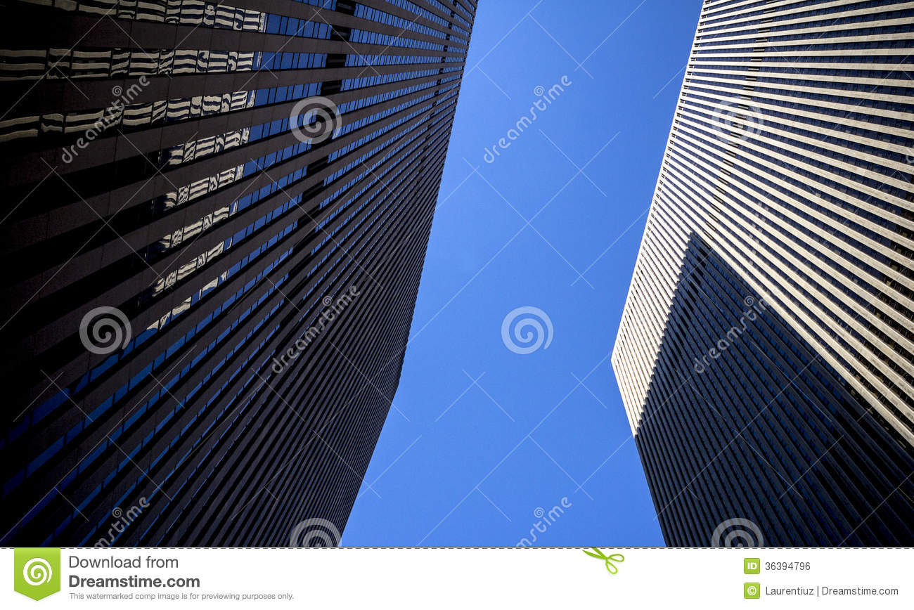 Royalty free stock image high tech highrise building