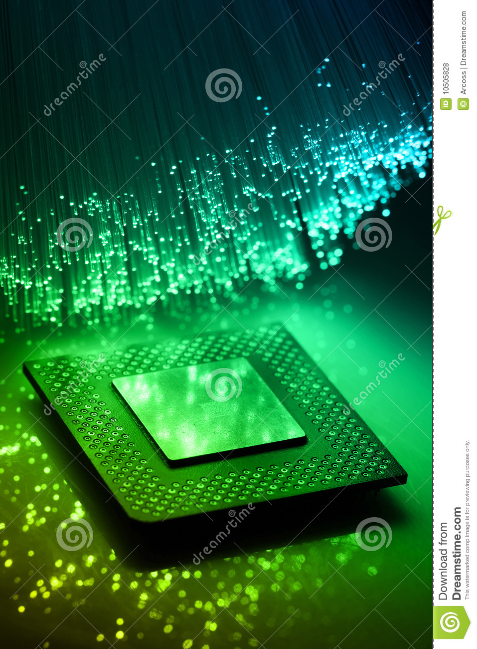 High Tech Technology Background Royalty Free Stock Photos