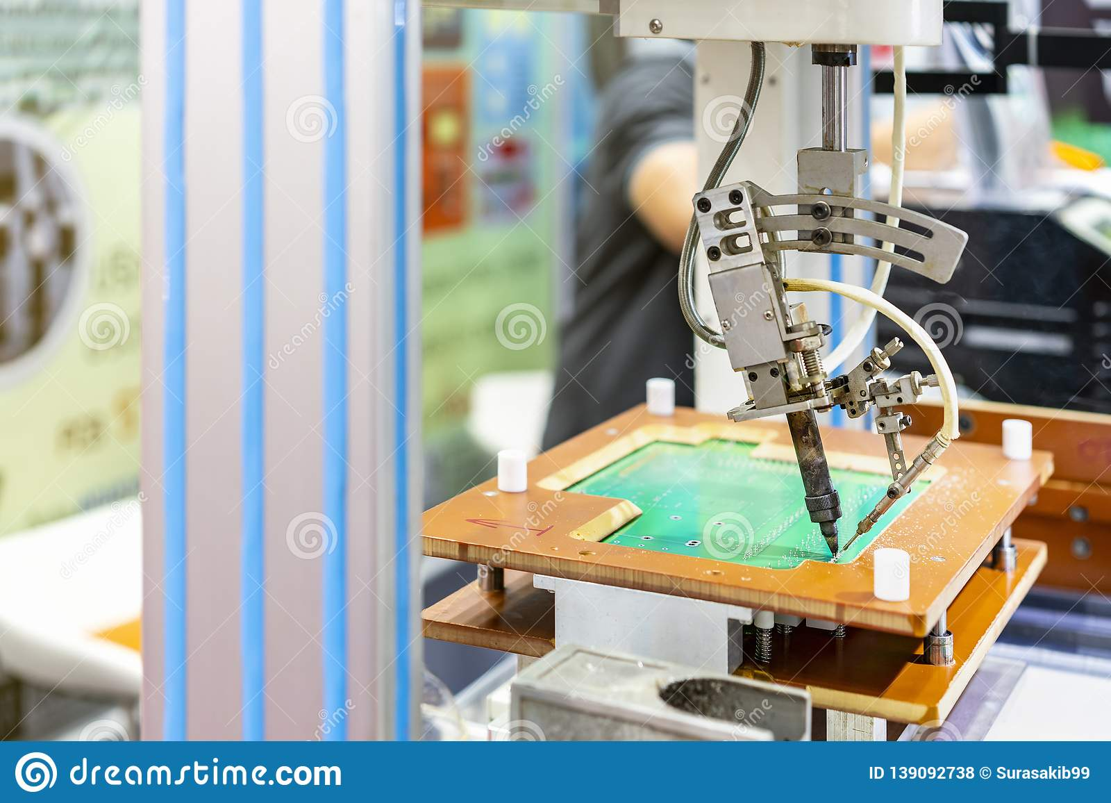 High Technology And Modern Automatic Robot For Pcb Print