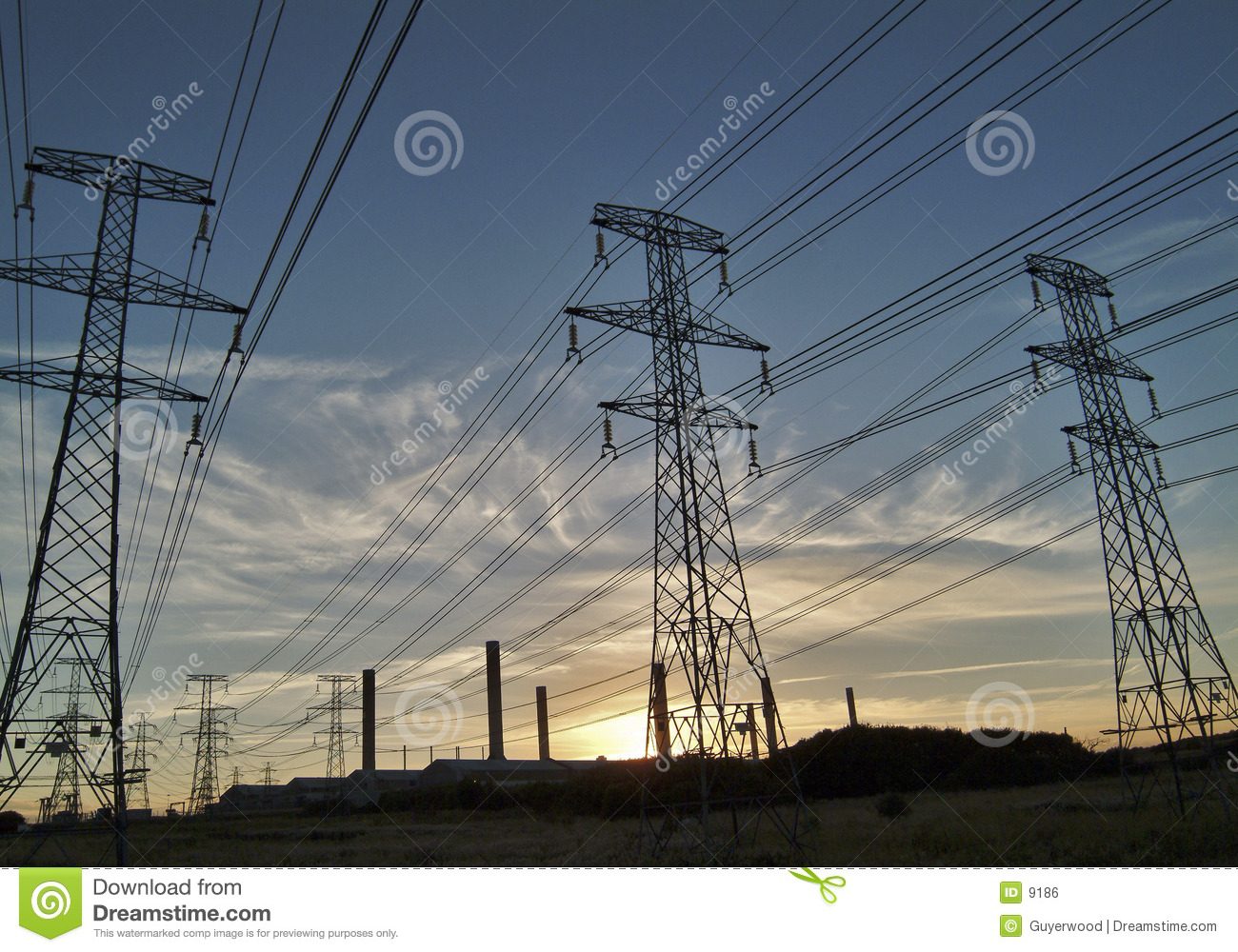 High tension power
