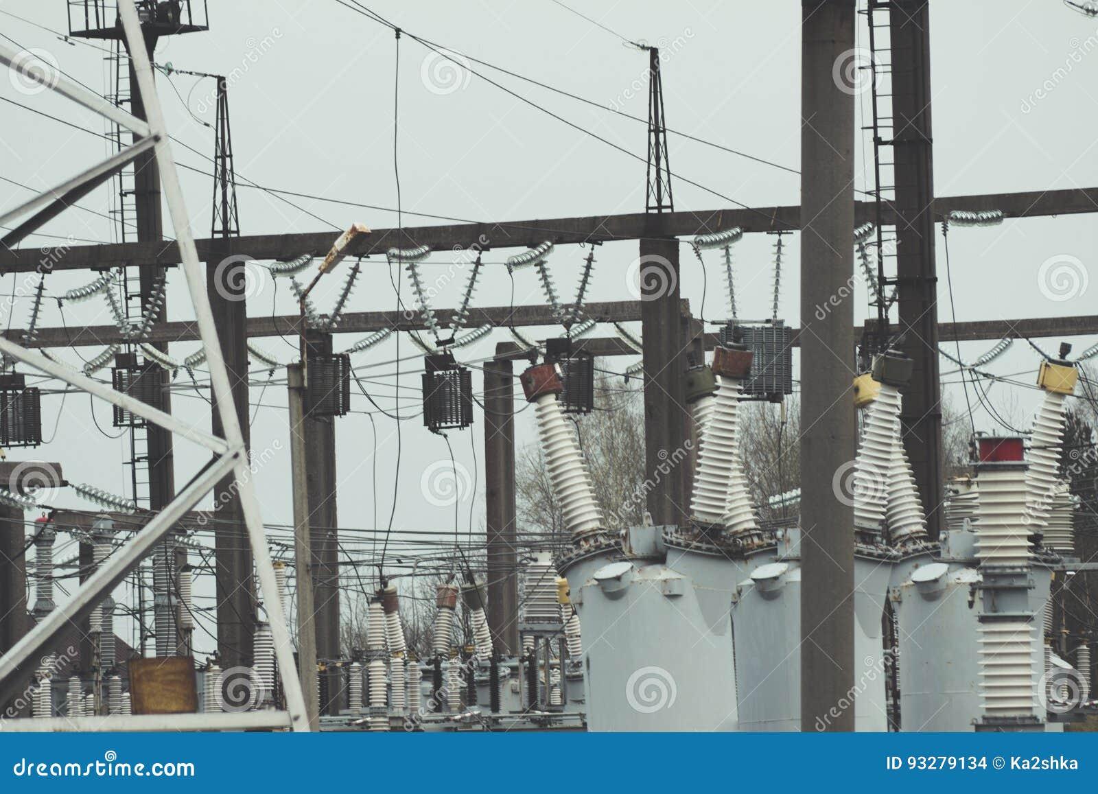 Production building power cables