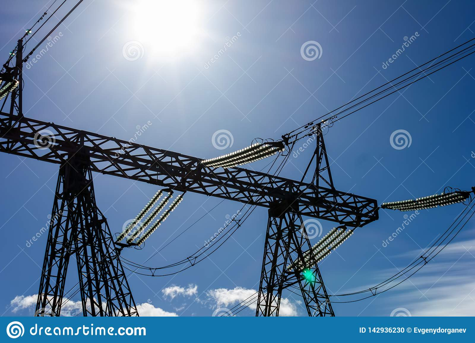 High voltage line high contrast