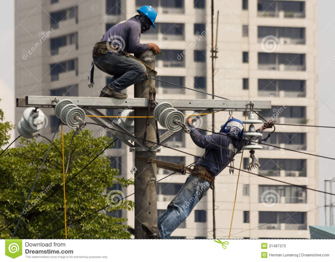 High Voltage Power Line Editorial Stock Photo - Image: 31487373