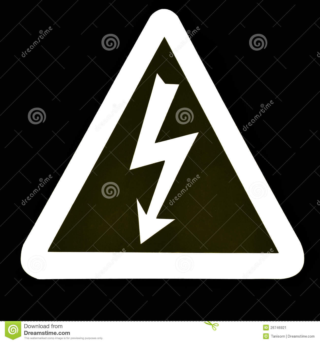 High Voltage Sign Stock Image - Image: 26746921: dreamstime.com/stock-image-high-voltage-sign-image26746921
