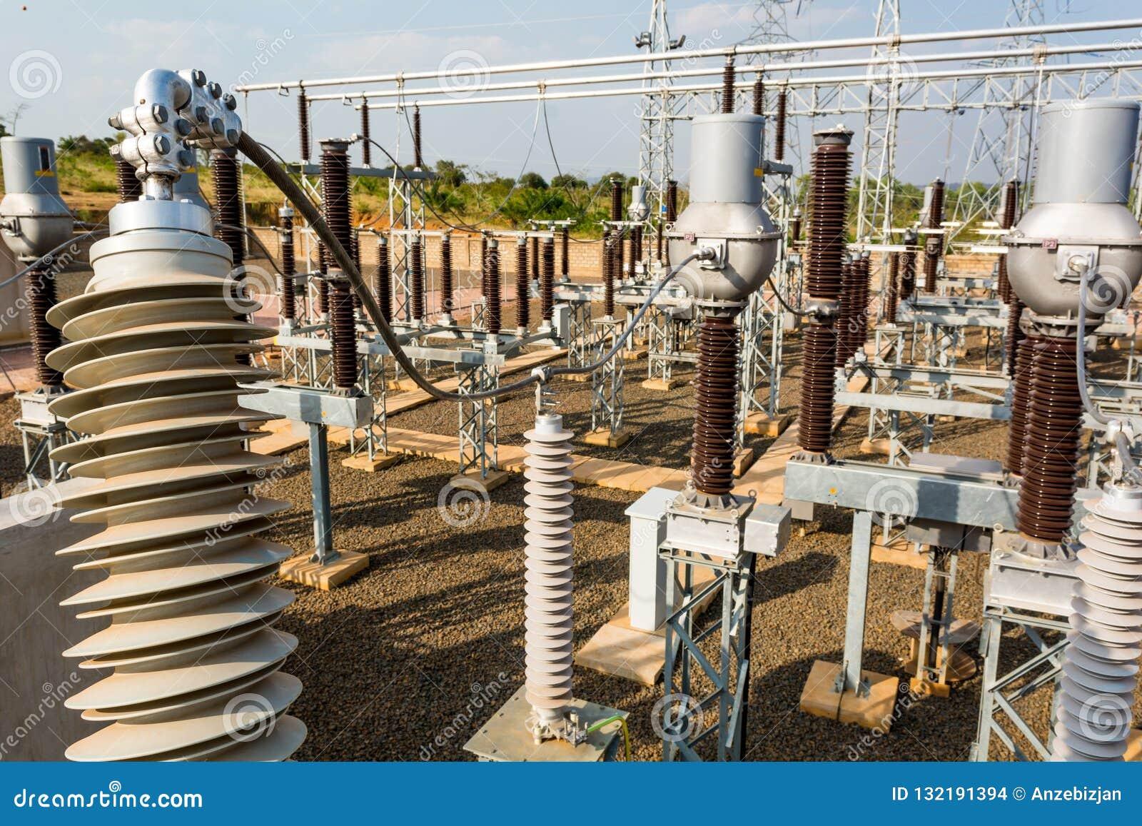 Current Transformer 110 KV High Voltage Substation Stock