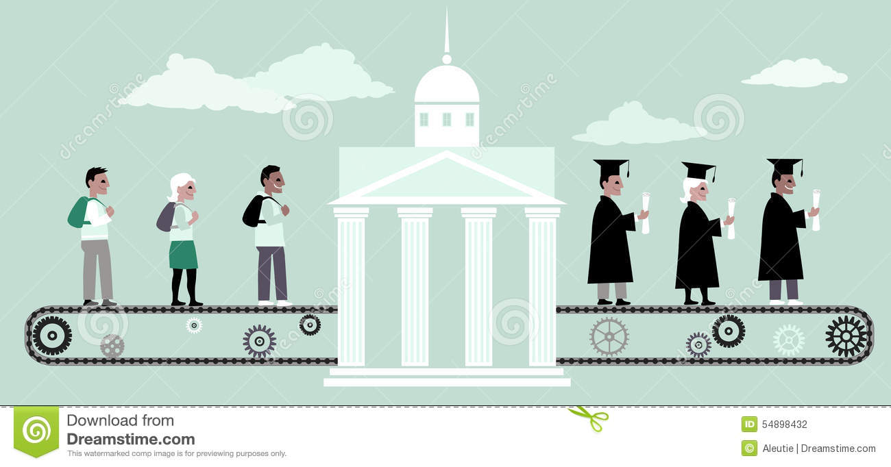 Higher education machine