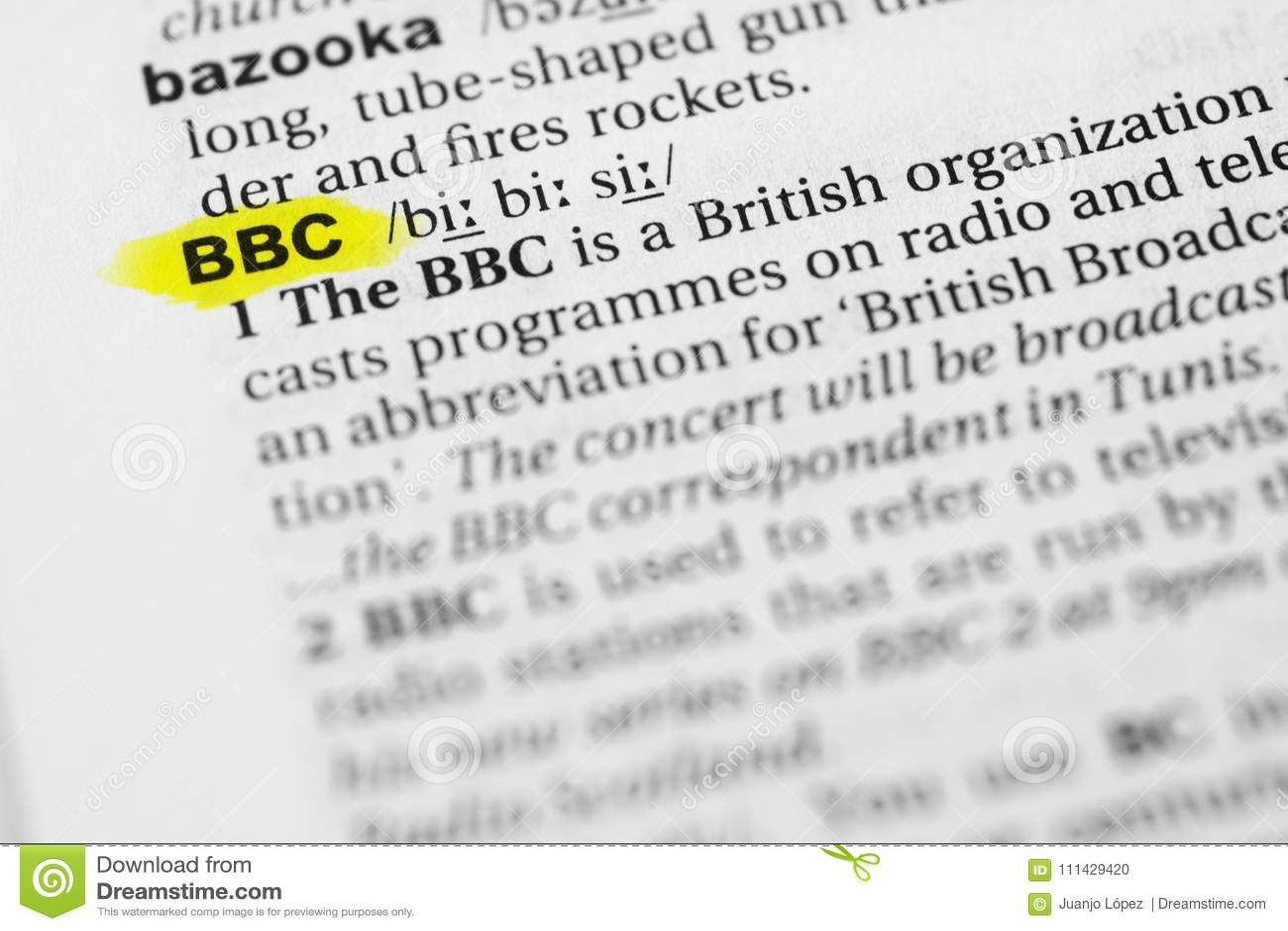 bbc language english