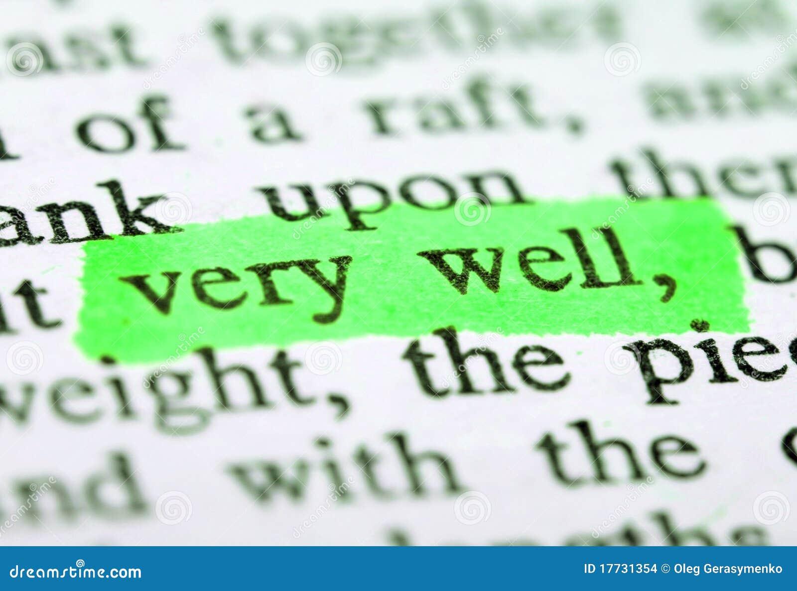 Highlighter e parole