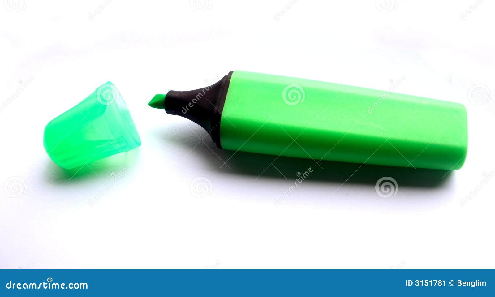 Highlighter verde