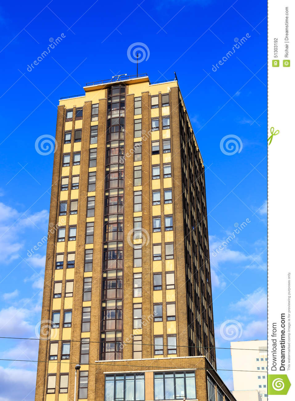 Highrise Apartment Building