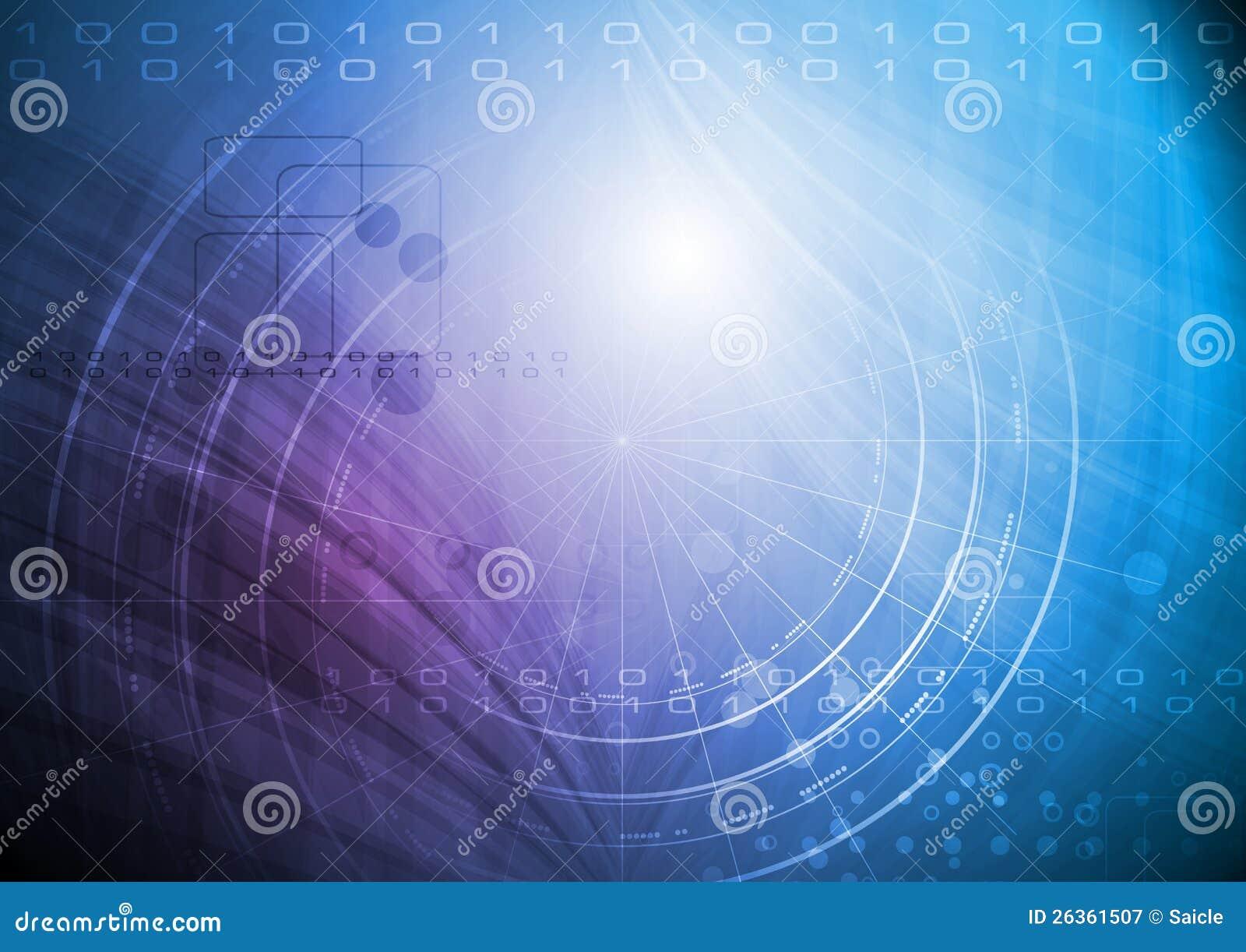 Hightech- vektorhintergrund