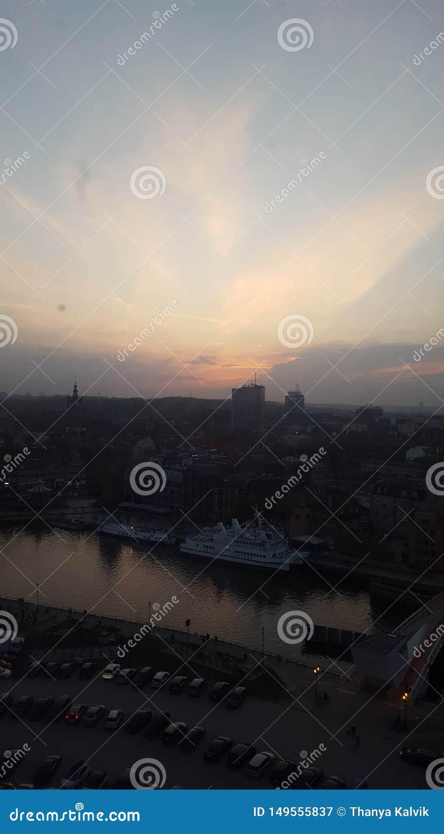 Highview EveningTime, Gdansk Poland