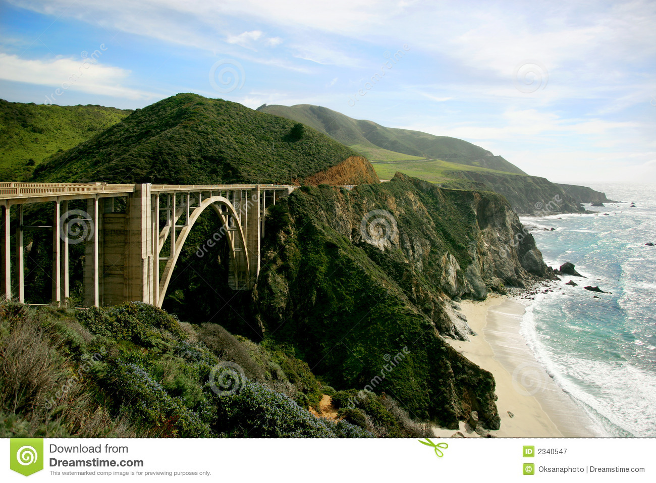 Highway 101 Royalty Free Stock Photography Image 2340547