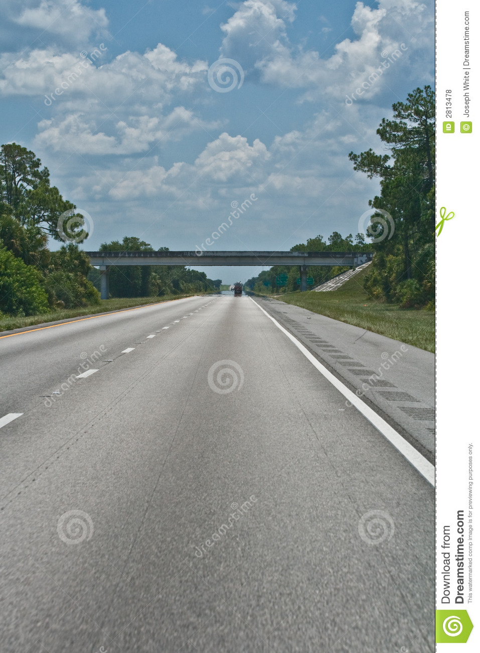 Highway Heat Distortion Royalty Free Stock Photos Image