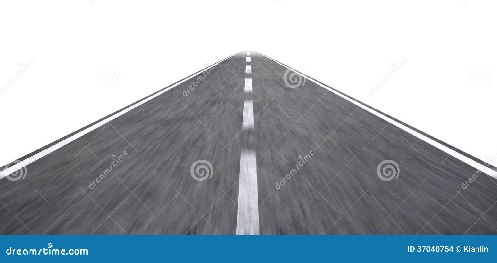 Highway illustration stock illustration. Illustration of motion ... for Straight Road Vector Free Download  585ifm