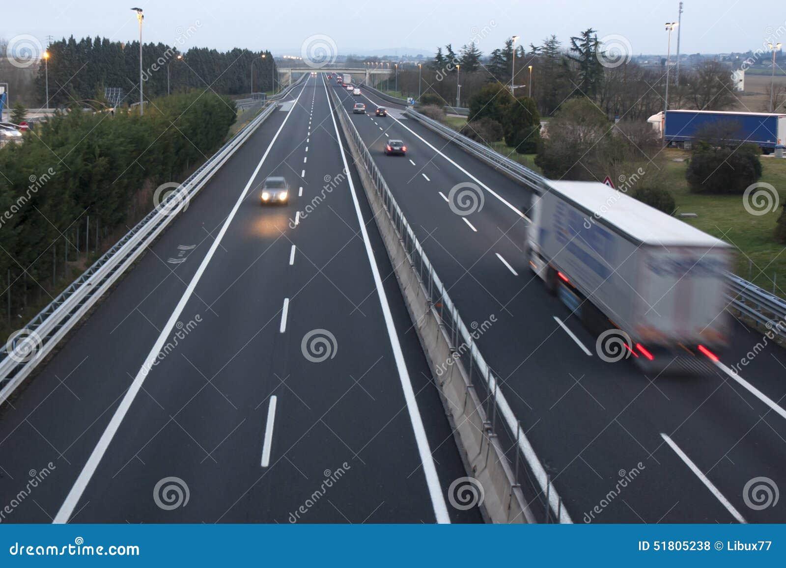 Download Highway Motorway Freeway Cars Trucks Stock Photo - Image of driving, drivers: 51805238