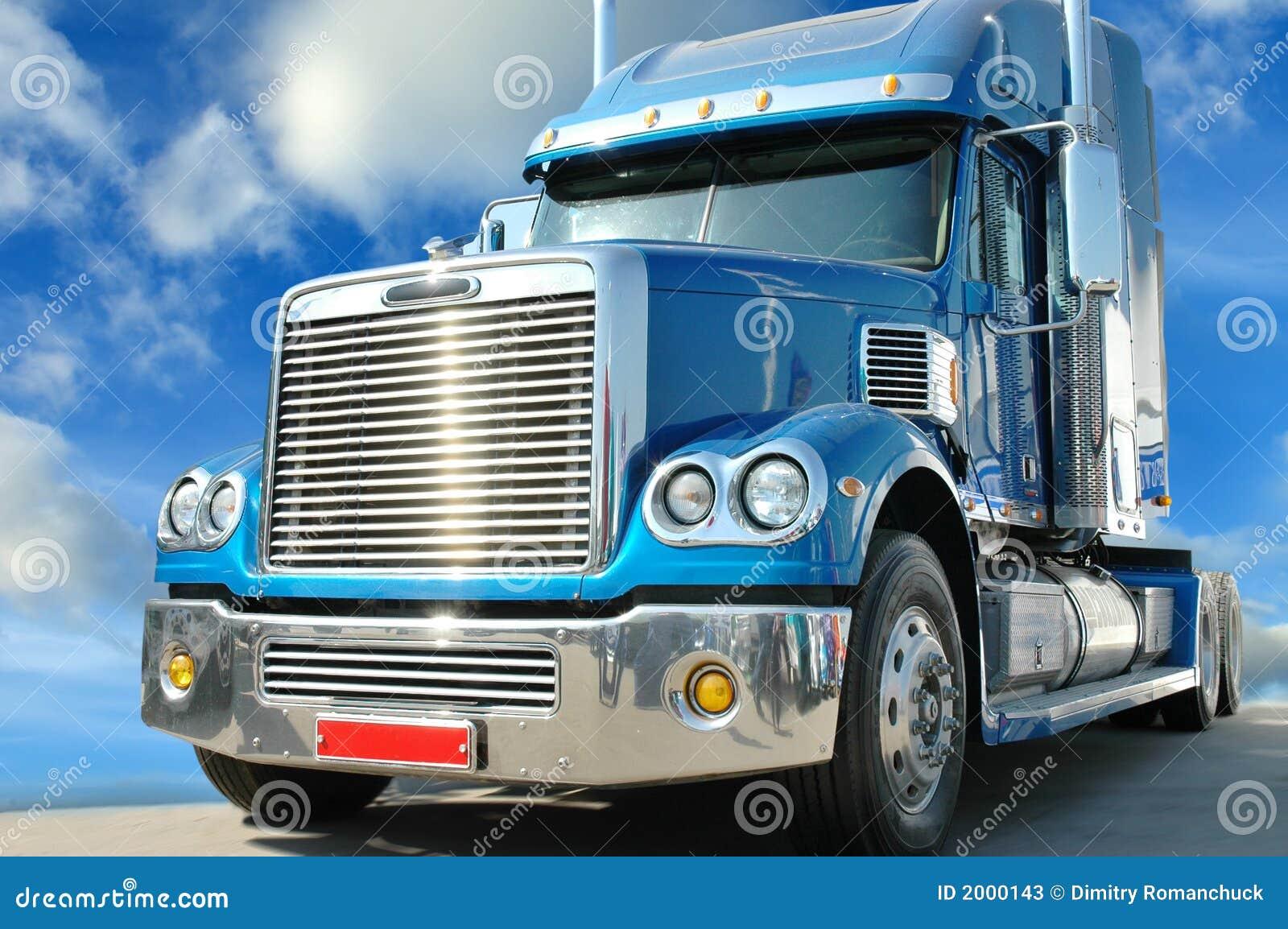 highway star american truck stock image image 2000143. Black Bedroom Furniture Sets. Home Design Ideas