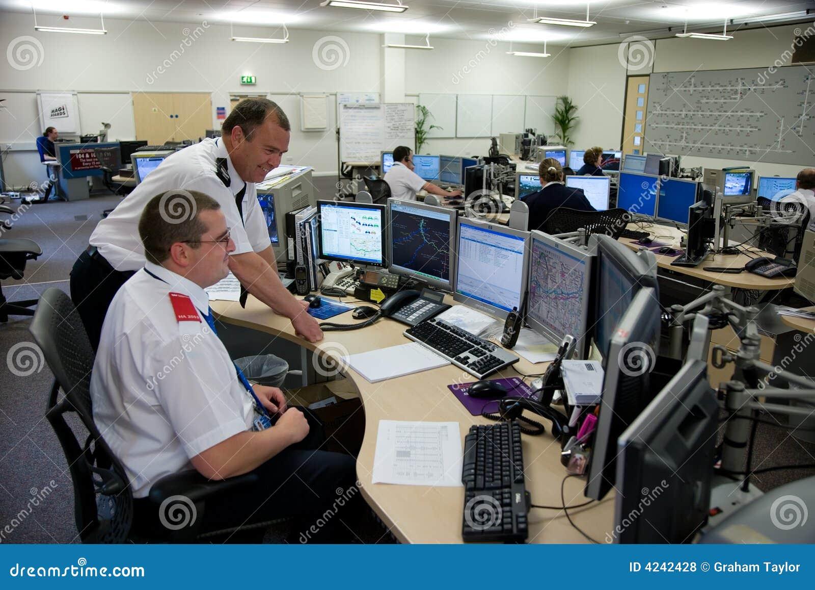 Highways Agency Motorway Control Room